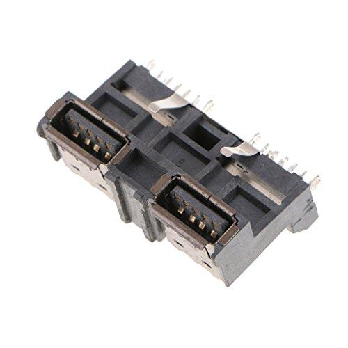 Homyl Connecteur USB à Souder Angle Droit pour PS4