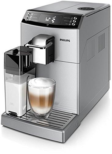 Philips Cafetera espresso súper automática EP4051/10 EP4051/10-Cafetera Molinillo de café y espumador de Leche en Jarra, 0 W, 1.8 litros, 0 Decibeles, Plástico, Plata