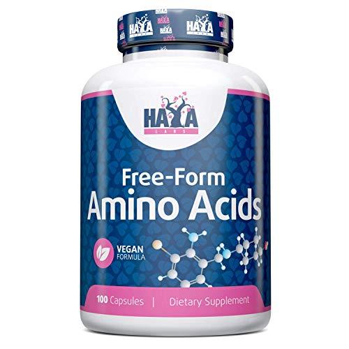 Haya Labs Free Form Amino Complex 100 Capsules Vegan Formula