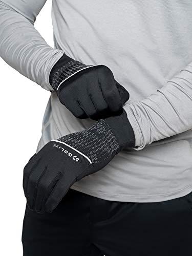 GoLite Rebound Laufhandschuh, Größe L/XL, Schwarz