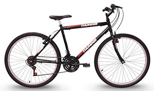 Bicicleta, Track Bikes, Aro 26, Thunder, Preta