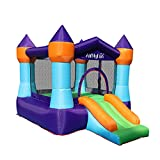 AirMyFun Inflatable Bounce House for Kids Outdoor, Indoor Jumping & Sliding Bouncy Castle with Air Blower, Playhouse for Backyard