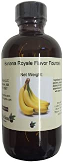 OliveNation Banana Royale Flavor Fountain, Water Soluble Flavoring for Beverages, Ice Cream, Icing, Fillings, Non-GMO, Glu...