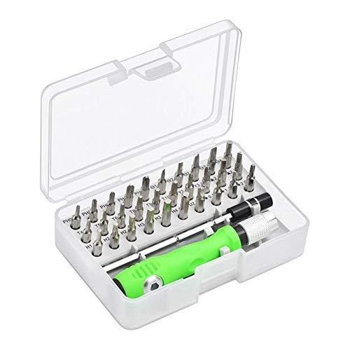 Nixi888 Nuevo Kit de Herramientas de reparación del Kit de Destornillador de 32 en 1, Herramienta de reparación Multifuncional Multifuncional de la cámara de teléfono móvil magnético