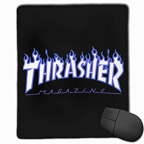 Thrasher Gaming Mouse Pad Work Console Mouse Pad Non-Slip Rubber Backing
