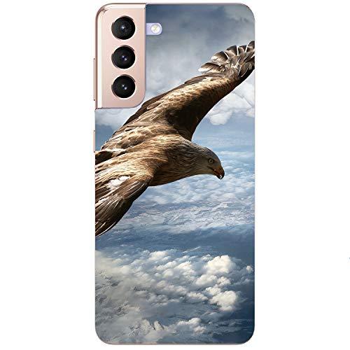 Generisch Funda blanda para teléfono móvil, diseño de águila y águila de mar, para Samsung Apple, Huawei Honor Nokia One Plus Oppo ZTE Xiaomi Google, tamaño: Huawei Mate 10 Lite