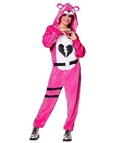 Spirit Halloween Adult Fortnite Plush Cuddle Team Leader Costume - L/XL