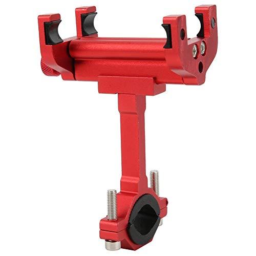 Fiets Telefoon Beugel Aluminium Fiets Telefoon Bevestiging Bevestiging Navigatie Ondersteuning Elektrische Motor Fiets Houder met Sleutel