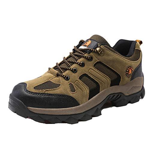 Botas De Montaña Hombre Mas Alta Trekking Zapatos Al Aire Libre Antideslizante...