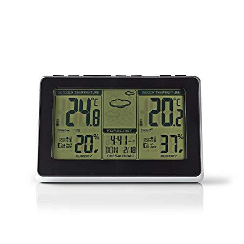 Nedis Stazione meteorologica Sens o wireless Orologio di