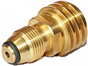 DOZYANT Propane Tank Adapter Converts POL LP Tank Service Valve to QCC1 / Type1 Hose or Regualtor - Old to New