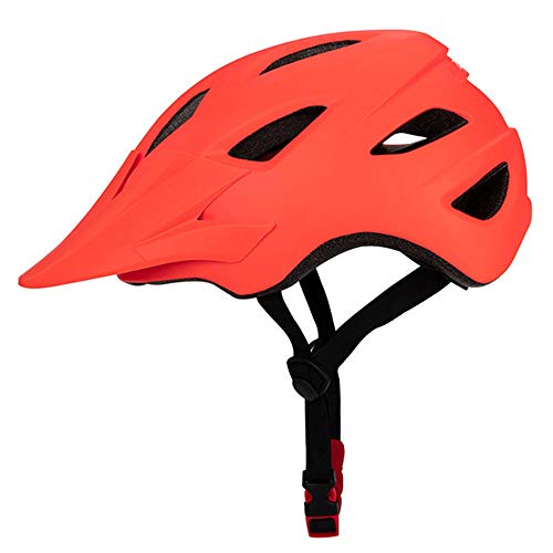Casco Bicicleta SFBBAO Casco Bicicleta Adulto Niño Mujeres Hombres Ligero Transpirable En Molde Bicicleta Al Aire Libre Deporte Montaña Road Bicicleta 55-61cm 99 Naranja