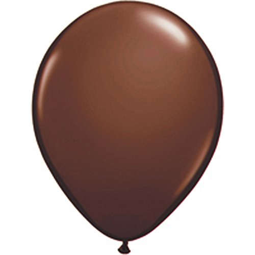 100 Ballon Marron Brun Chocolat Brown Taille 12 cm (5)