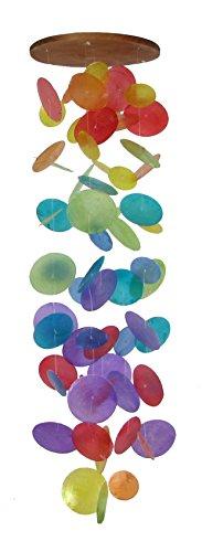 Muschel Windspiel, rund, Swing, 75 cm