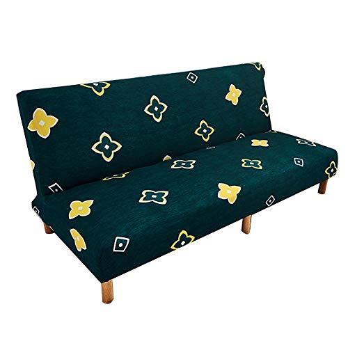 Fiaoen Funda elástica para sofá, sin brazos, elástica, para sofá, protector de sofá de mascotas, perro