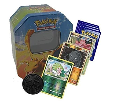 Kstamps Pokemon 50 Cards including Holos & Rares in a Pokemon Tin