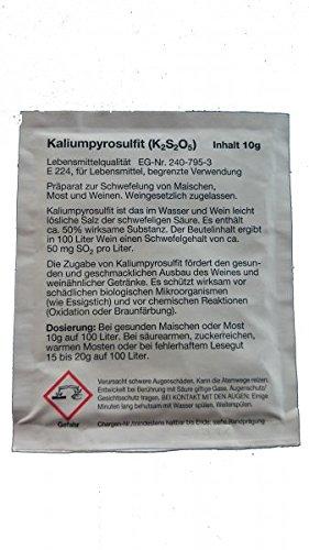 Schwefelpulver 10G Kaliumpyrosulfit