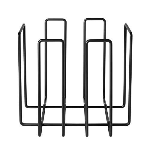 Blomus Wires Magazinsammler, Schwarz, One Size