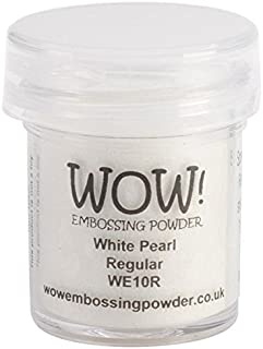 Wow Embossing Powder 15ml, White Pearl