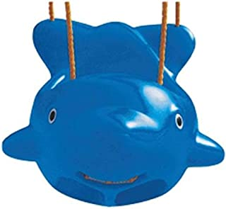Baby fish Swing Seat Baby Toddler For Kids Activities Seat - blue
