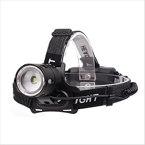 SONG Scheinwerfer, wiederaufladbarer LED-Scheinwerfer, tragbare Wasserabweisende Lampe Batteriebetriebenes Licht, Anzug für Camping, Wandern, Angeln, Netzkürzungen