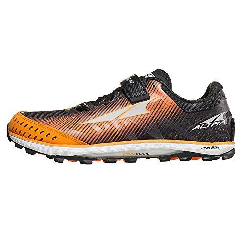 ALTRA Men's King MT 2 Trail Running Shoe, Black/Orange - 10.5 M US