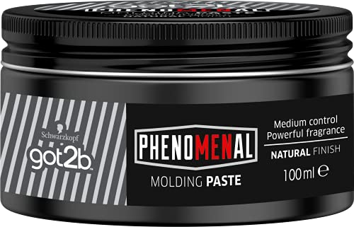 Schwarzkopf got2b Phenomenal Molding Paste 100 ml / 3.4 oz by Schwarzkopf