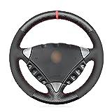 MEWANT Funda de volante de fibra de carbono mate y ante para Porsche Cayenne 2004-2010