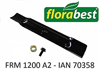 53 cm 21 16 mm Foro Lama per Tosaerba Pacciamatura Lama per Aeg-Electrolux pro // Ayp // Dimas // Florabest // Flymo// Partner// Royal//Cortile//Jonsered // Mara Zzini
