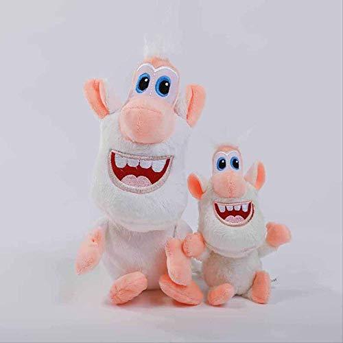 qwerwj Gefüllte Plüsch Spielzeug, Anime Booba Buba Große Puppe Puppe Kissen Kinder Paar Geschenke Pp Baumwolle Material, 38cm pro