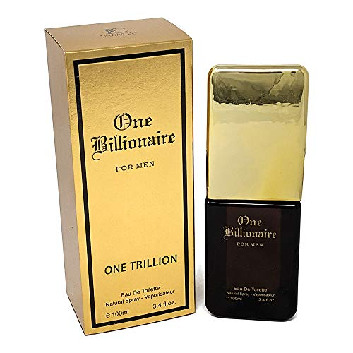 J&H MILLION, Eau de Toilette Spray for Men, Wonderful Gift, Energetic, Daytime and Casual Use, for all Skin Types, a Classic Bottle, 3.4 Fluid Ounce
