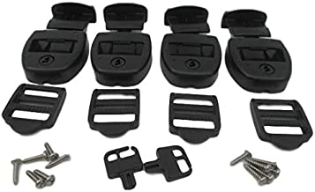 4X Spa Hot Tub Cover Latch Strap Repair Kit & Key Hot Spring Caldera Video How To