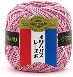 オリムパス レース糸 金票40番(ミックス)10g玉巻 3玉入 M15