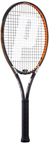 Prince Tennisschläger Tour 100 L (besaitet), schwarz, 1