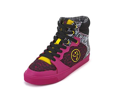 Zumba Footwear Zmoji Zumba Street Charge, Zapatillas Deportivas para Interior Mujer, Rosa (Shocking Pink), 36.5 EU
