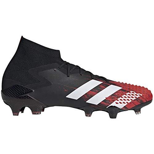 Adidas Predator Mutator 20.1 Fg Mens Firm Ground Calcio Cleats Ef1629, Nero (Core Nero-bianco-rosso attivo), 39 EU