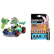 Toy Story 203154000 Disney Pixar 4 – RC Buggy with Buzz Lightyear – 1: 24 Scale with Duracell Ultra ...