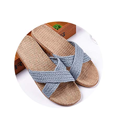 New Summer Bedroom Slipper Women Bathroom Home Slippers Weman 14 Color Casual Plus Size Beach Flat Shoes Ladies House Slippers,13,51
