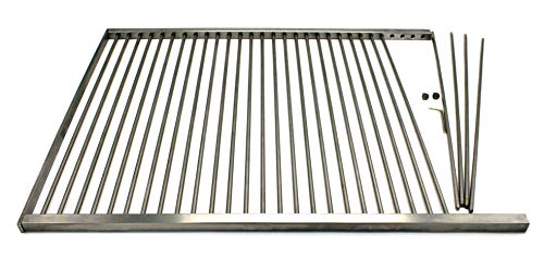 zerlegbarer Grillrost aus Edelstahl 1.4301 nach Maß Maßanfertigung Grill nach Wunsch (1-150 cm)