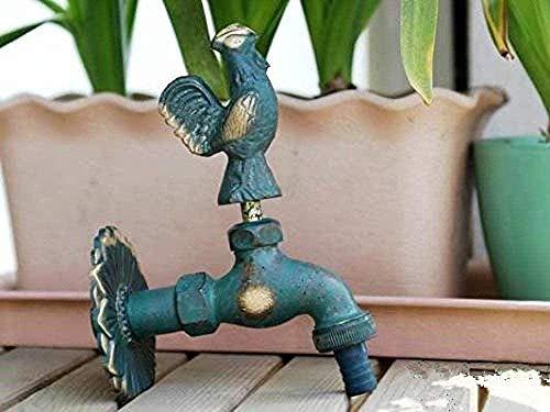 Robinet de jardin en laiton antique de forme animale de jardin pour laver la vadrouille/robinet animal d'arrosage de jardin