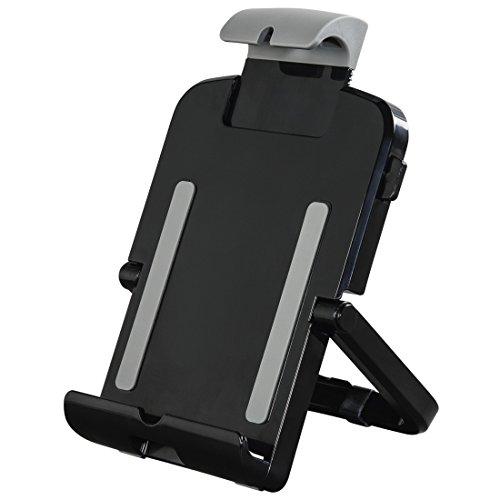 Hama 00108355 Universal Passive Halterung Schwarz, Grau Halterung - Halterungen (Tablet/UMPC, Universal, Passive Halterung, Schwarz, Grau, 15,7 cm, 26,5 cm)