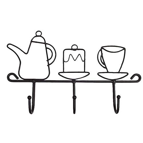 ZHICHUAN Cappotto Bagno Gancio Gancio Creativo Veranda Chiave a Parete Mensola Mensola Bagagli Decorativo Portachiavi Coat Hooks regalo di festa/A