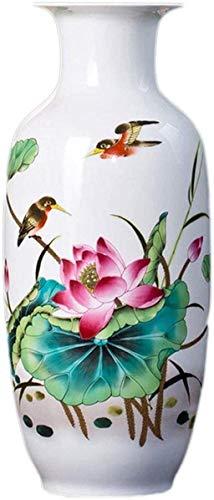 YONGYONGCHONG Vasen Home Decoration Kunstwerk Moderne chinesische Blumenschmuck Porzellan Ornament Dayscreative Einfachheit Customer Service Team Keramik Jar (Size : Style Ten)