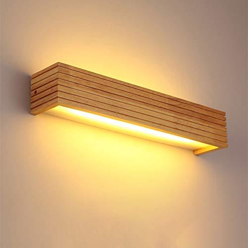 Wandlamp, Europese, bedlamp, LED, spiegel, modern, creatief, lamp van hout, led, leeslamp van massief hout, voor woonkamer, slaapkamer, woonkamer, lezen, zacht licht, kristal, stijl in het jaar