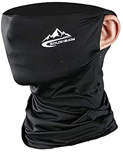 Cycling Half Face Mask Motorcycle Neck Riding Neck Gaiter Cooling Climbing Running Hiking Neck Wrap Ice Silk Cycling Headwear