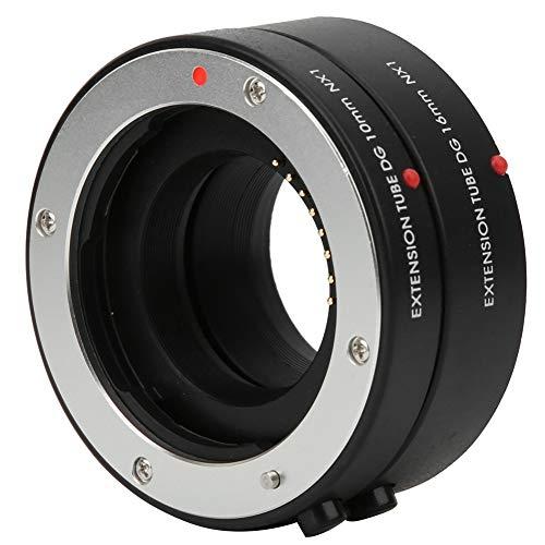 Topiky Adattatore Obiettivo Macro, Messa a Fuoco Automatica Anello prolunga Macro prolunga con Contatto elettronico per Fotocamera Samsung NX Mount (10mm + 16mm)