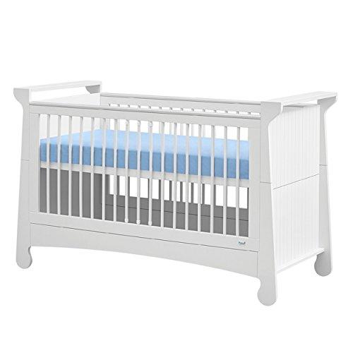 Baby Bett Bettchen Babybettchen Tagesbett Kinderzimmerbett PAROLE 140x70 weiß