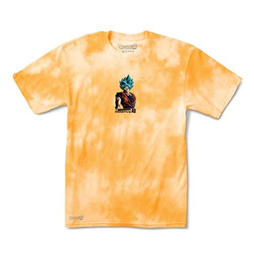Primitive x Dragon Ball Super: Shadow Goku Washed II T-Shirt (Orange)