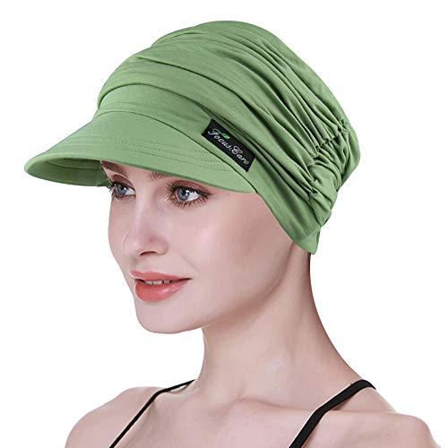 FocusCare Gorras de béisbol para el cáncer de Mama Turbantes de ala para Cabello Fino Regalos para la Abuela con cáncer