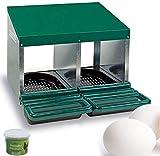 FINCA CASAREJO Ponederos para gallinas + 2 Huevos macizos de Regalo + Vitaminplus. Ponedero Eco 2...